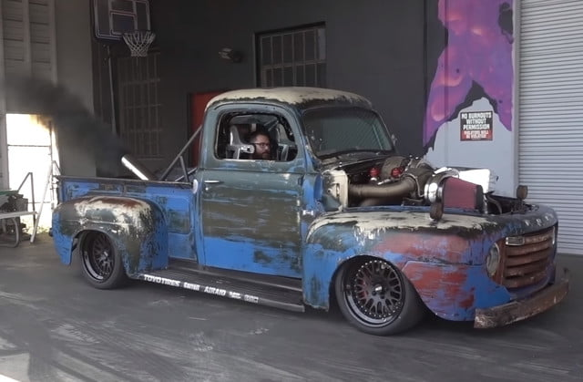 Bet Your Grandpa S Old Truck Couldn T Do Burnouts Like