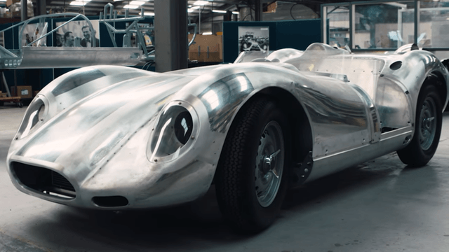 1958 lister knobbly contination hand hammered body