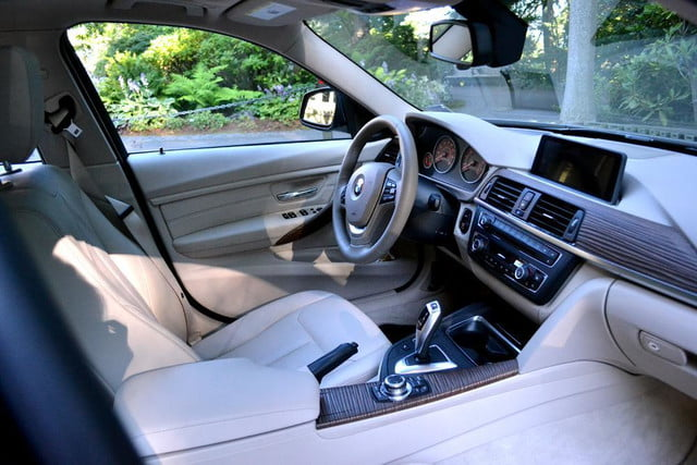 2012 bmw 335i review interior drivers seat
