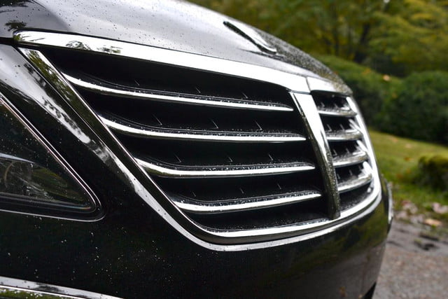 2012 hyundai equus 2013 review front grill angle