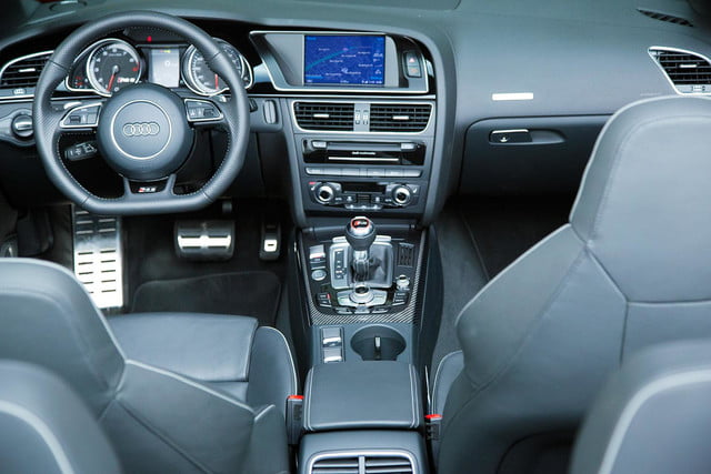 2014 Audi RS 5 Cabriolet interior front back view