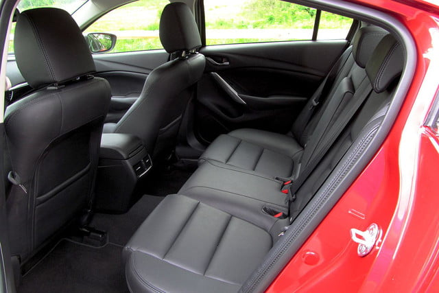 2014 mazda6 i touring review back seats