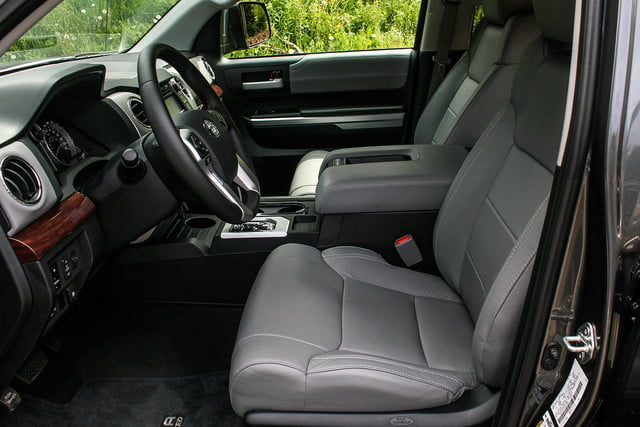 2014 toyota tundra review front seats