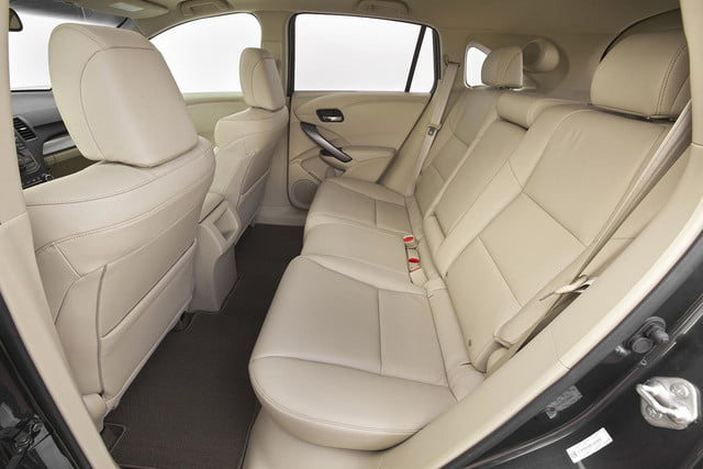 2015 Acura RDX first drive rear seats