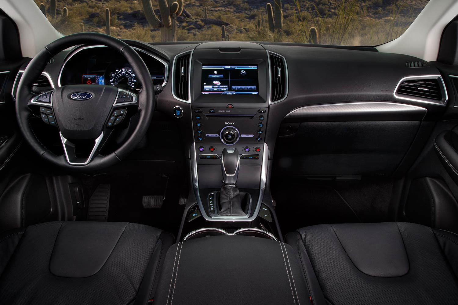 2015 ford edge sport first drive review digital trends. Black Bedroom Furniture Sets. Home Design Ideas