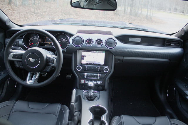 2015 Ford Mustang GT Interior Front