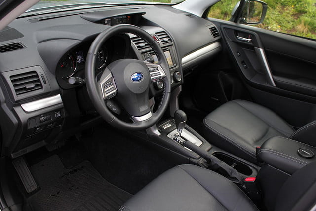 2015 Subaur Forester XT interior front