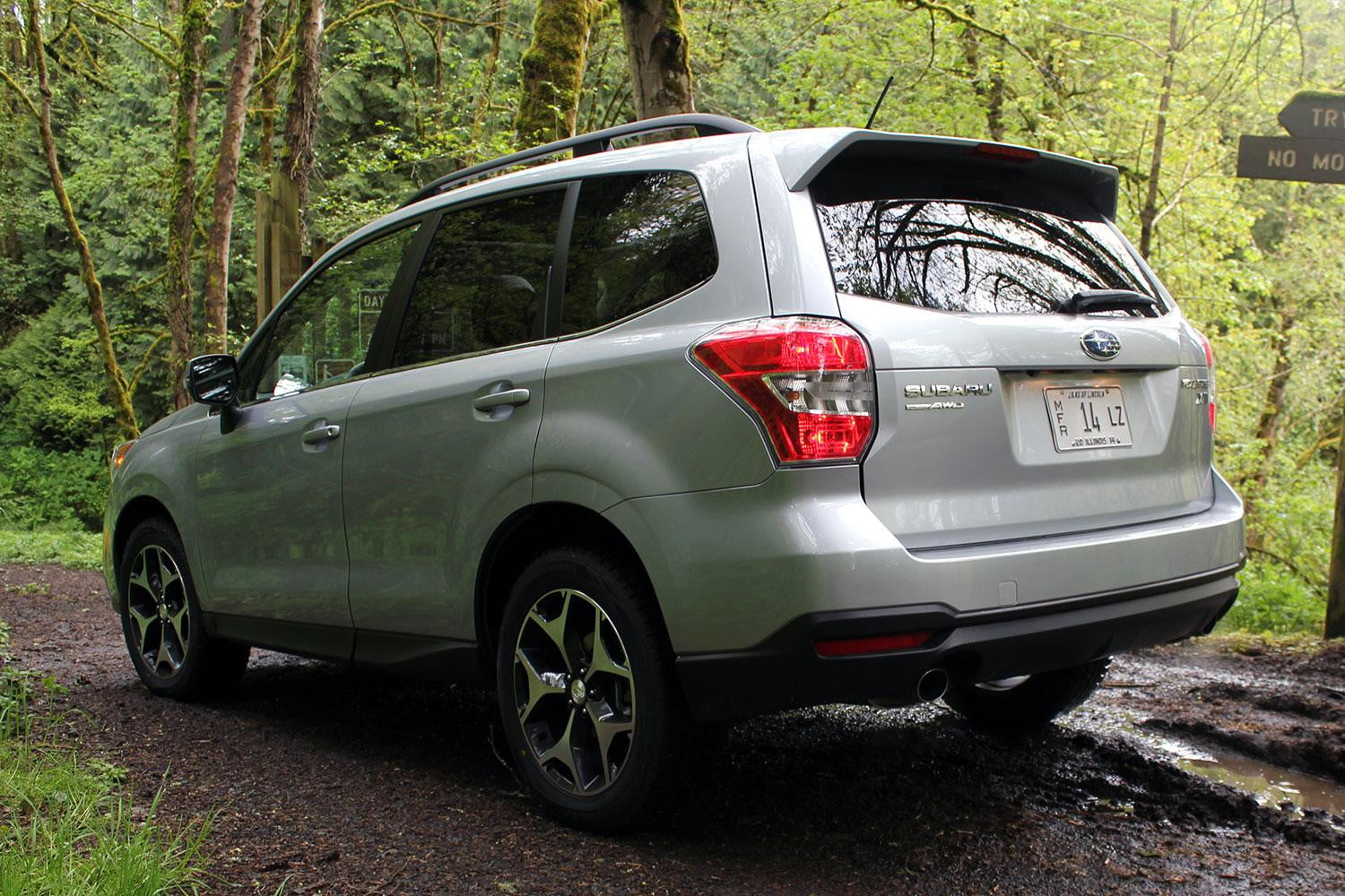 2015 subaru forester xt review digital trends. Black Bedroom Furniture Sets. Home Design Ideas