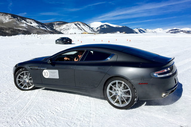 2016 aston martin on ice first drive side 3
