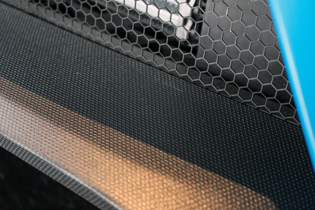 2016 Ford Focus RS blue grill