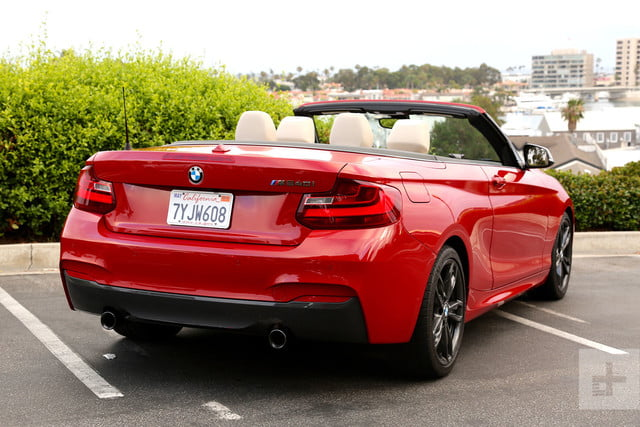 2017 BMW M240i Review back angle side