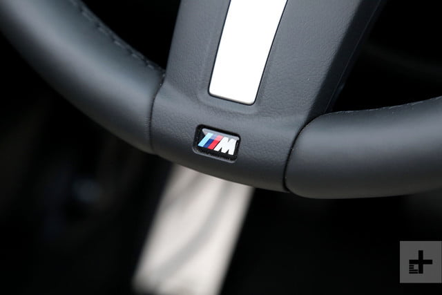 2017 BMW M240i Review steering wheel detail