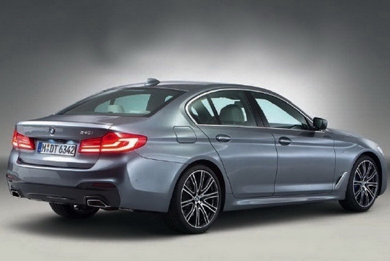 2018 Bmw 5 Series Leak