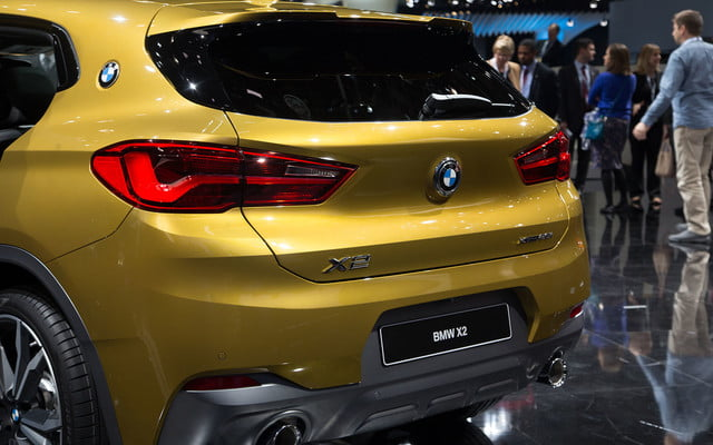 the 2018 bmw x2 takes its official worldly bow in detroit  11
