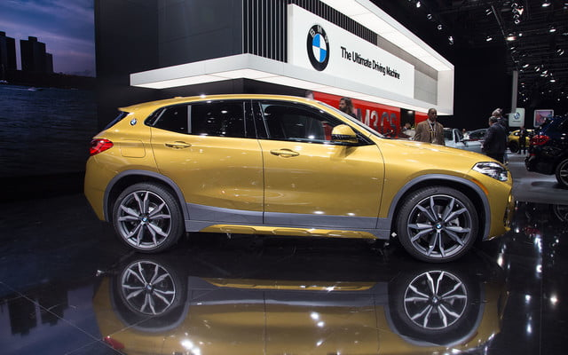 the 2018 bmw x2 takes its official worldly bow in detroit  2