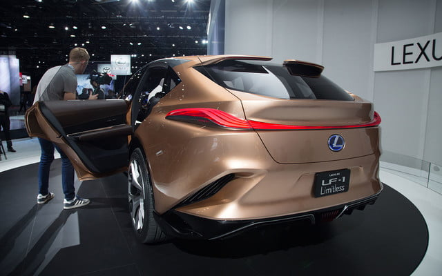 the lexus lf 1 limitless concept previews a new direction for flagship crossover 2018 detroit  8