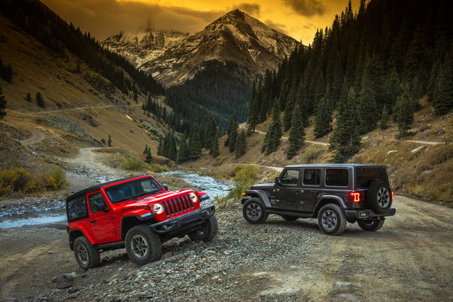2018 Jeep Wrangler JL Rubicon And Sahara
