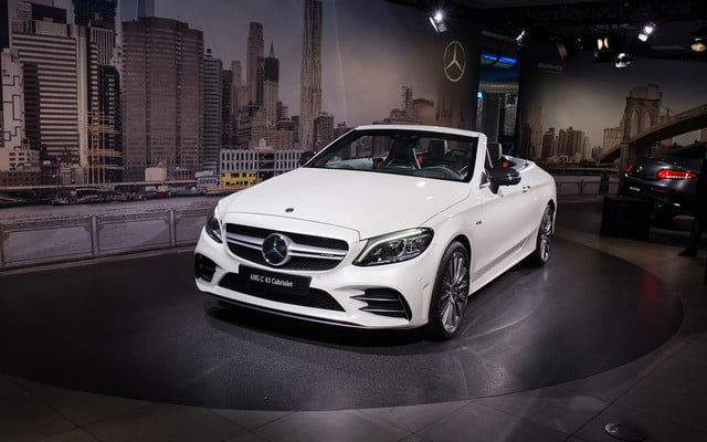mercedes amg subtly updates c 63 lineup for new york 2018  2019 class 12