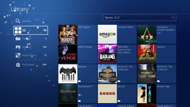 How to Organize Your PS4 Game Library Using Folders   Digital Trends