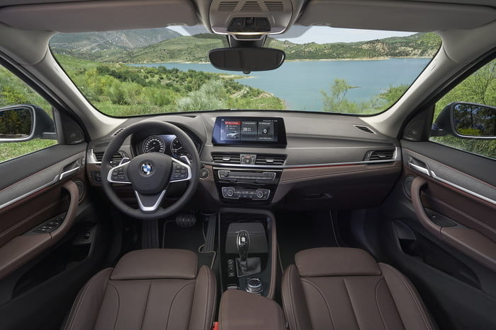 2020 bmw x1 gets new look front end interior upgrades official 8