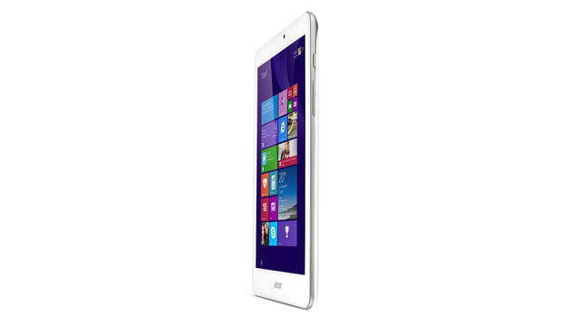 embargo 93 620am et acer goes tablet crazy ifa 2014 iconia tab 8 w 10 one upright left press image