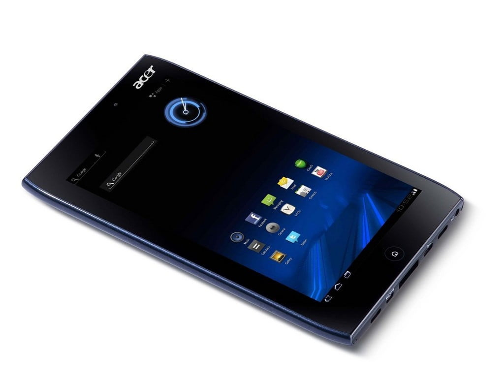 rumor 7 inch acer iconia a100 tablet available in august for 300 rh digitaltrends com Acer Iconia 7 Inch Tablet acer tablet a100 manual