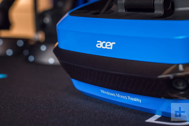 Acer Windows Mixed Reality Headset review offset