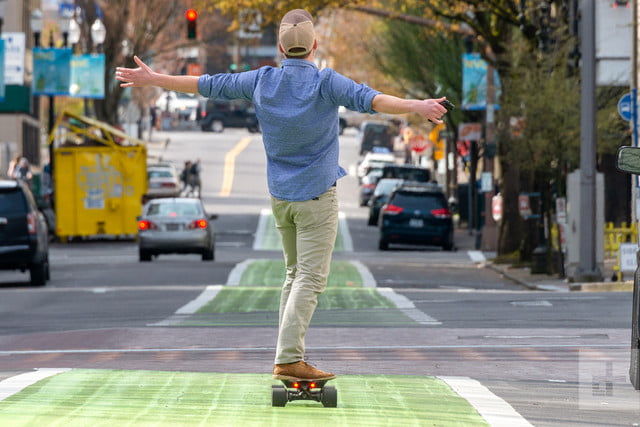 acton blink qu4tro qu4dro eskateboard drew riding 7