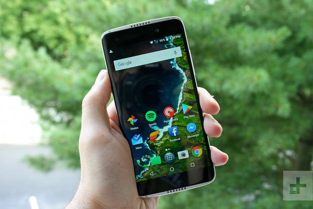 Alcatel Idol 5S review front