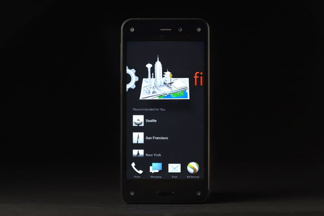 Amazon Fire phone recommended