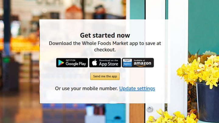 amazon prime whole foods market discounts app download