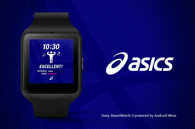 google brand name watch faces android wear asics