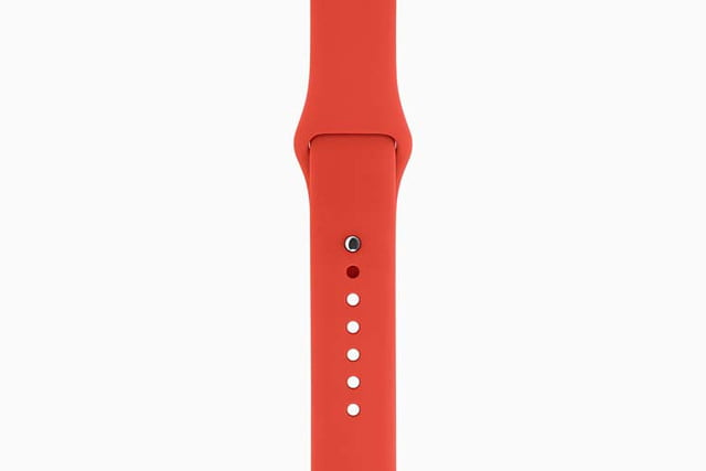 apple watch bands hermes product red news sport band orange 201509
