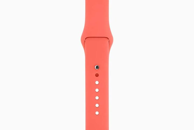 apple watch bands hermes product red news sport band pink 201509