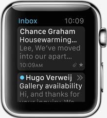 apple watch release news mail