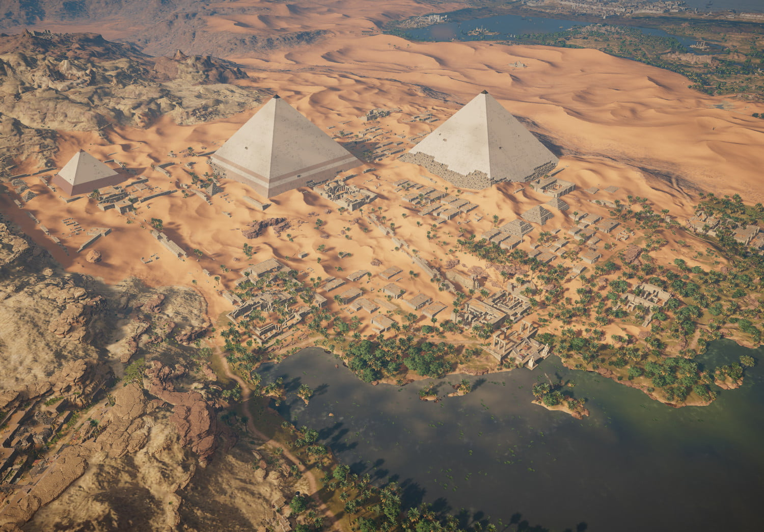 Why Assassin S Creed Origins Setting Is Its Best Quality