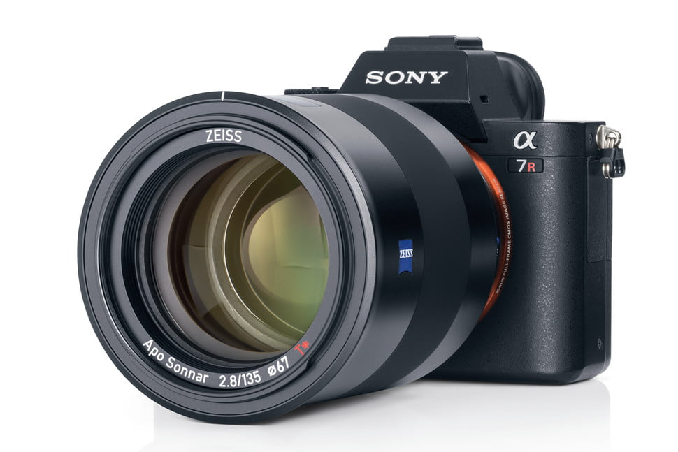 Image result for Zeiss 2.8/135 Batis fixed focal length for Sony E-mount