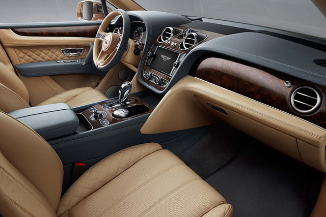 bentley says its bentayga suv can do it all but will customers bite  front cabin 2 b