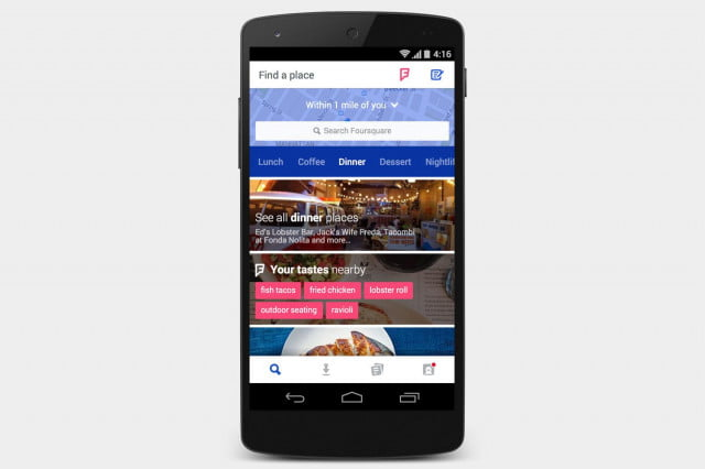 Best-Android-Apps-June-Foursquare