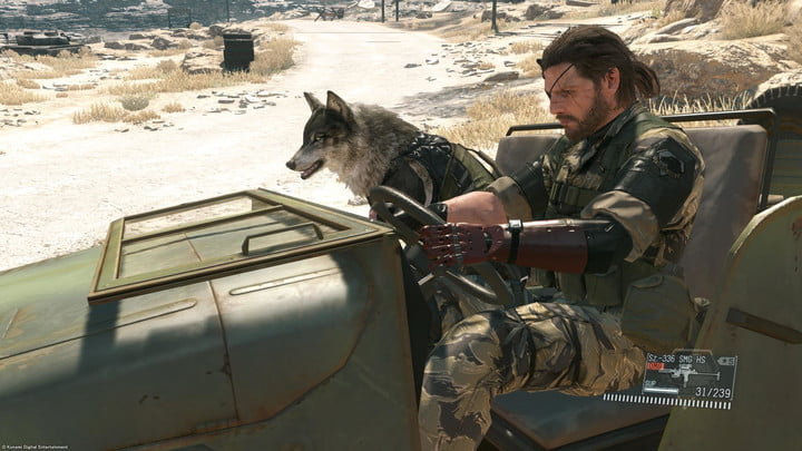best ps4 games metal gear solid v phantom pain
