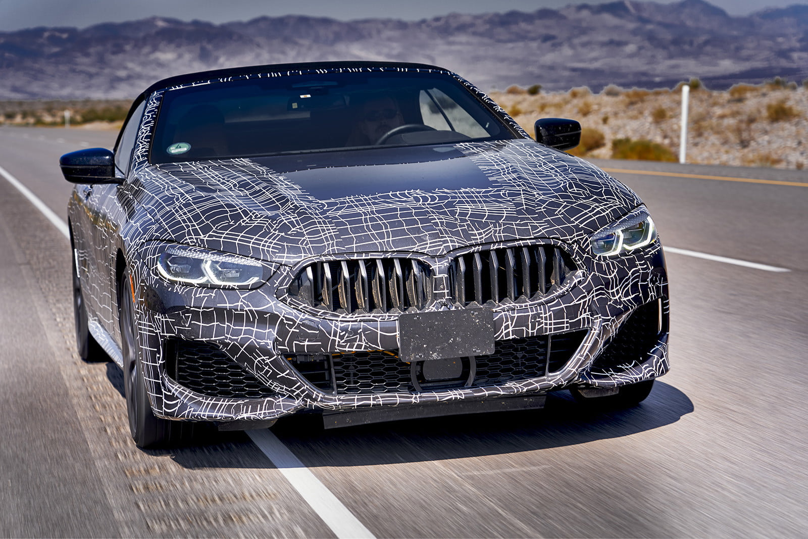 Bmw Tests Whether Its 8 Series Convertible Can Stand The Heat In Death Valley