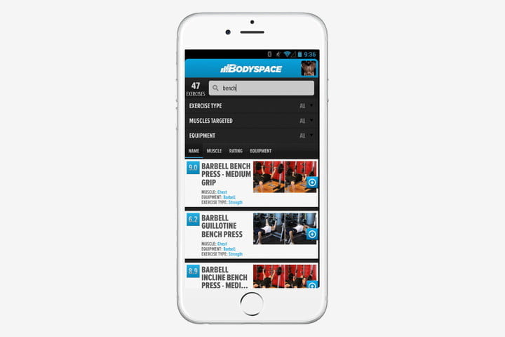 best weightlifting apps bodyspace weight lifting