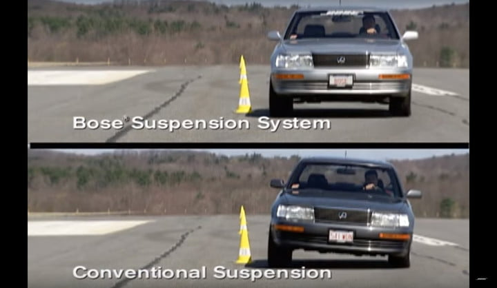 boses revolutionary adaptive suspension gets a reboot for 2019 bose demo video 2004