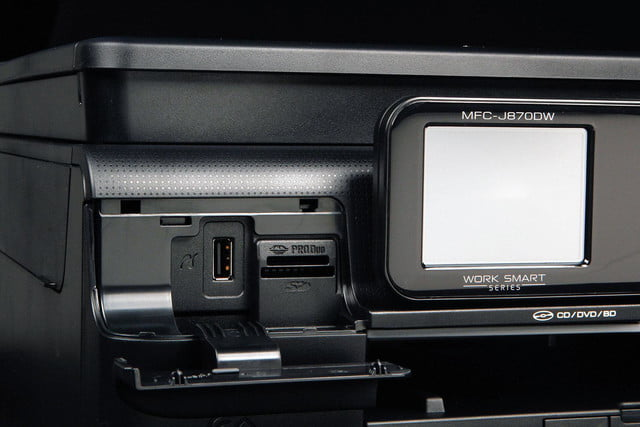 Brother MFC-J870DW front ports