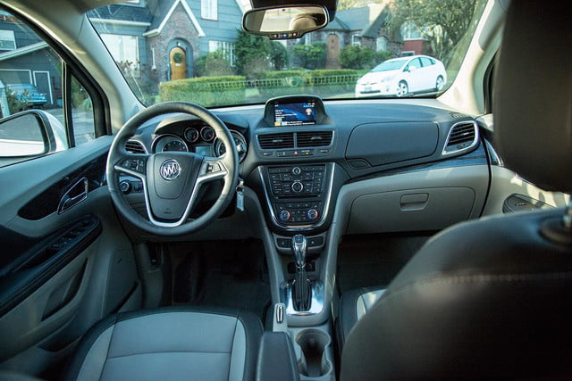 Buick Encore front cabin