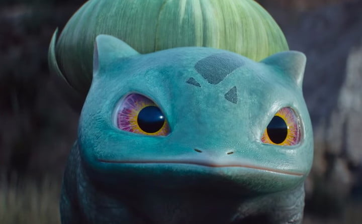 detective pikachu pokemon compared to their cartoon counterparts bulbasaur feature