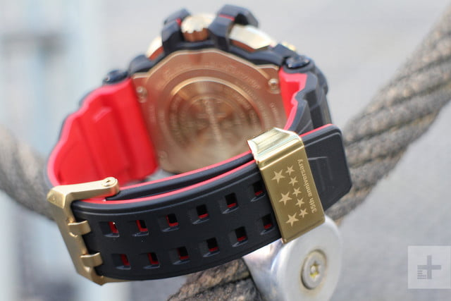 Casio G Shock GPW-2000 review clasp