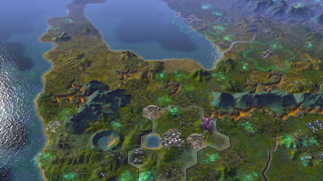 will first 250 turns civilization beyond earth shape screenshot 12