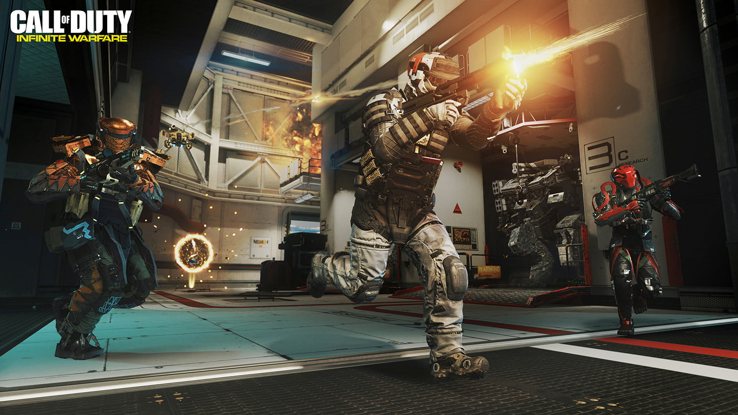 Call Of Duty Infinite Warfare Review Digital Trends Loop Kartini Sony Playstation 4 Tom Clancys Ghost Recon Wildlands Cod Multiplayer