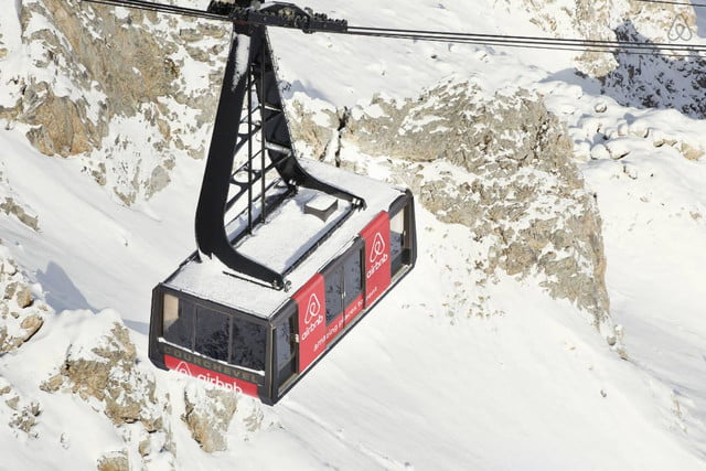 airbnbs new a night at contest is for cable car in the french alps courchevel airbnb 9a8a8fee